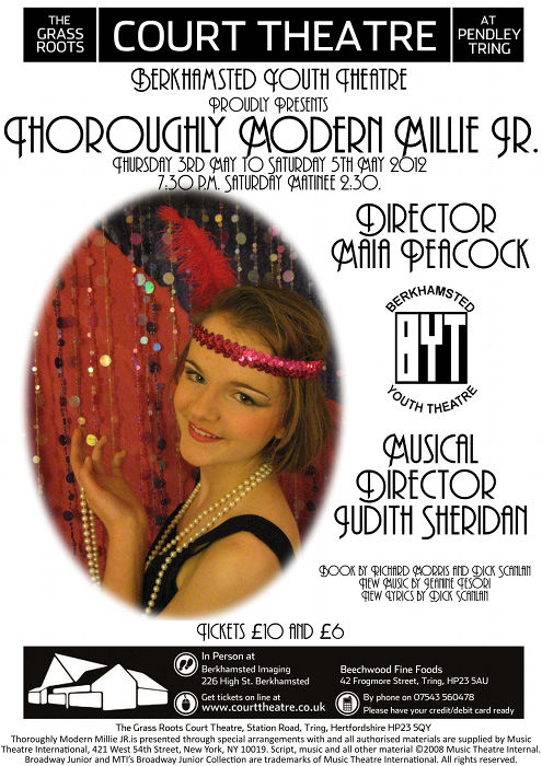 Thoroughly Modern Millie - May 2012