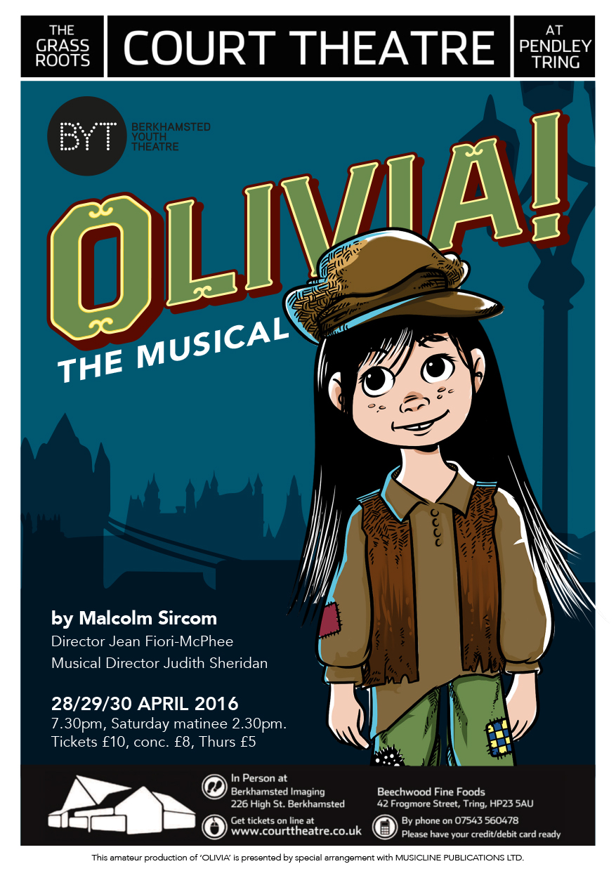 Olivia! - April 2016