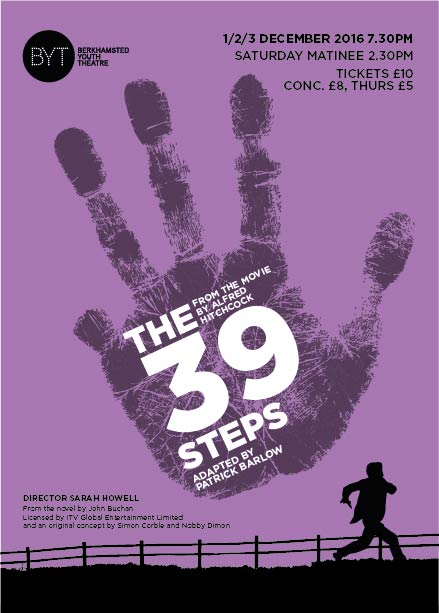 The 39 Steps - Dec 2016
