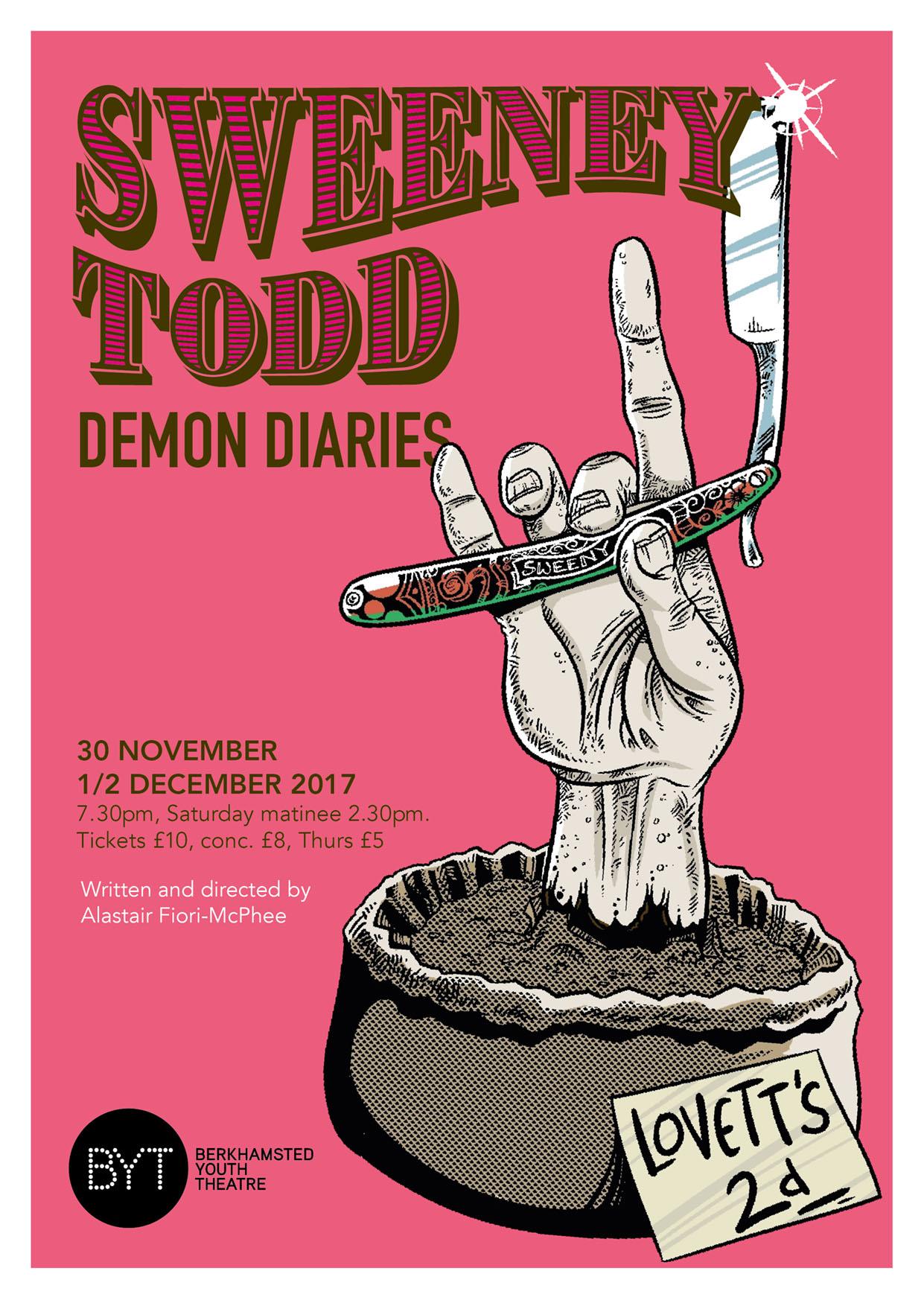 Sweeney Todd - November 2017